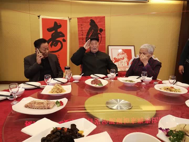 镇江最后一位健在的百岁老红军过生日啦!
